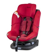 Автокресло Coletto Millo 0-18 ISOFIX red