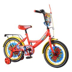 "Велосипед TILLY Wonder 16 ""T-216219 red + yellow"