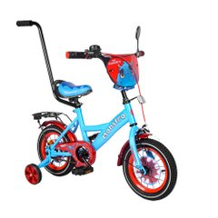 "Велосипед TILLY Monstro 12 ""T-21228/1 blue + red"