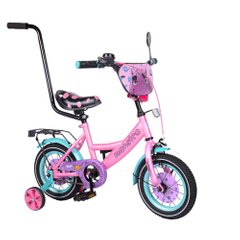 "Велосипед TILLY Monstro 12 ""T-21229/1 pink + blue"